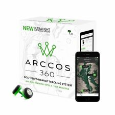 2017 Arccos 360 Ultralight Live Shot Golf Tracking System GPS 2.0 Tour Analytics