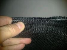 Jet Black MilitaryBait Mesh Poly heavy weight selling by the yard 56 in wide