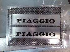 Scritte scritta targhette logo loghi adesivo adesive adesivi resina Piaggio