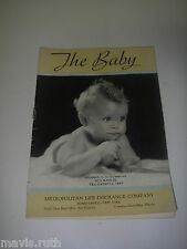BOOKLET 1930s Metropolitan Life Insurance Co The Baby health care Advertising