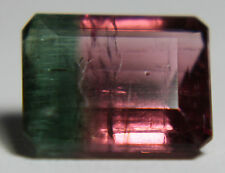 Bicolor, Watermelon Tourmaline, pink and green, 1.75ct 7.5x6mm,电气石, Turmalin