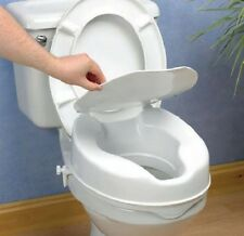 Raised Toilet Seat With Lid 5cm