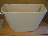 18.75 x 8 briggs toilet tank commode 4985 b11 7435  WHITE lid is sold seperate