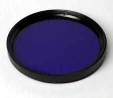 Schott BG3 40.5mm x 1.5mm thick Dual Bandpass Ultraviolet IR Photo Filter