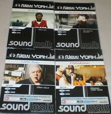 LOT DE 4 DVD + 4 CD SOUND WALK NEW YORK LITTLE ITALY BRONX CHINATOWN MEAT PACHIN