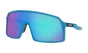 Oakley SUTRO Sunglasses OO9406-0737 Sky Blue Frame W/ PRIZM Sapphire Lens NEW
