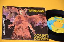 "COUNT DOWN 7"" RAPTUS / VAMPIRE 1°ST OIRG ITALY 1976 NM"
