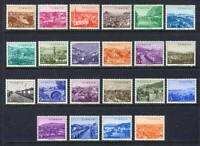 30906) Turkey 1958 MNH Ordinary 22v. Scott #1290/1311