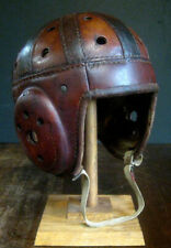 GORGEOUS Early Old Antique 1930's WILSON D236 Leather Football Helmet Vintage