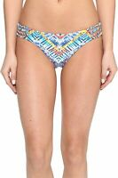 Red Carter Womens Swimwear Blue Size 4 Beach Reversible Bikini Bottom $76 747