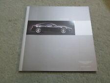 NOS Aston Martin V12 Vanquish S V12 Coupe Prestige Sales Brochure English
