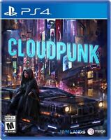 Cloudpunk for PlayStation 4 [New Video Game] PS 4