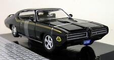 Motormax 1/24 Scale 73200AC 1969 Pontiac GTO Judge Black Diecast model car