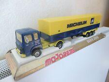 MAJORETTE Série 3000   Camion SAVIEM PS 30 + remorque MICHELIN    1/60