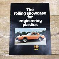 Vintage Brochure Engineering Plastics Automobile Manufacturing Mobay Prototype