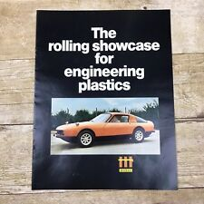 Vintage Brochure Engineering Plastics Automobile Manufacturing Mobay Prototype