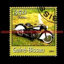 INDIAN Custom Chopper Guiné BISSAU Guinée BISSAO  Moto Timbre Stempel Stamp