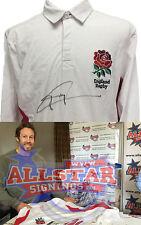 Jonny Wilkinson Firmado Inglaterra Camiseta De Rugby Primera firma desde que World Cup & prueba