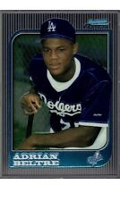 1997 BOWMAN CHROME ROOKIE CARD #182 ADRIAN BELTRE RC DODGERS RANGERS L@@K *MINT*