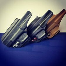 Kydex Holster, Glock 19 /19x /23/25/45 Iwb CLAW custom made you pick color