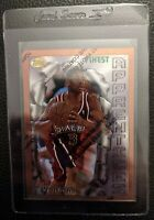 1996 TOPPS FINEST W/C 69 ALLEN IVERSON ROOKIE CARD RC SIXERS HOF