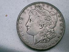 1901  MORGAN SILVER DOLLAR 115 YRS OLD & PART OF U.S. HISTORY