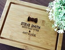 Father's Day Gifts - Personalised Engraved Serving Board (Best Dad Gift)