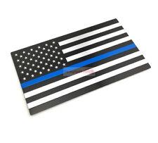 USA United States Blue Police National Flag Emblem Badge Decals Sticker For Jeep