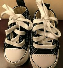 CLASSIC CONVERSE BASKETBALL SNEAKERS CHUCK TAYLOR ALL STAR  TODDLER SZ.1 BLACK
