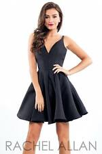 Rachel Allan L1003 size 12 Black Pageant dress. Prom dress. cocktail dress