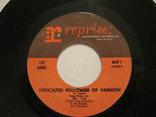 THE KINKS - Dedicated Follower of Fashion  - 45 - usa - 60s Garage Rock oop L@@K