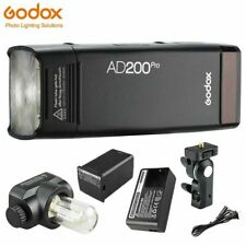 Godox AD200 Pro Pocket Flash Light 200Ws TTL 2.4G 1/8000 HSS Flash