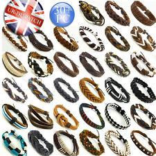 Leather Friendship Bracelets for Men