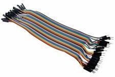 40pcs Dupont Male to Female 20cm Jumper Wire Connectors