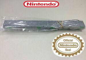 %100 OFFICIAL NINTENDO WIRED REMOTE MOTION SENSOR BAR IR FOR NINTENDO Wii / U