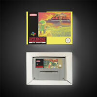 BS The Legend of Zelda PAL EUR Version With Retail Box ARPG Game Battery Save