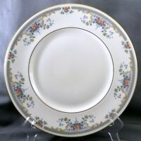 "Royal Doulton Juliet Dinner Plate 10-5/8"" Ivory Bone China Floral H-5077"