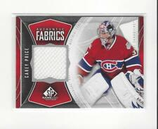 2009-10 SP Game Used Authentic Fabrics Carey Price JERSEY Canadiens