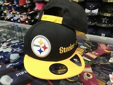 Pittsburgh Steelers Y2K DOUBLE WHAMMY Snapback 9Fifty New Era NFL Hat