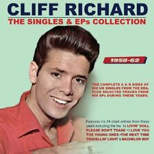 Cliff Richard The Singles & EPS Collection 2 Disc and CD