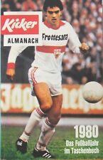 Kicker Almanach 1980 / Das Fußballjahr im Taschenbuch