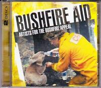 BUSHFIRE AID  (0Z DBL CD '09) VARIOUS ARTISTS inc NOISEWORKS - ROSE TATTOO