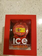 Ice- World Spain Edition Two tone Dial Silicone Strap Unisex Watch WO.ES.S.S.12