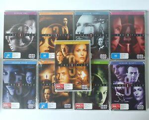 The X-Files Season 1 - 9 (DVD, 53 Disc Set) Region 4 PAL Brand New Sealed