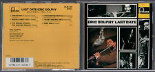CD ERIC DOLPHY LAST DATE  FONTANA 32JD - 100 MADE IN JAPAN