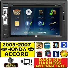 FITS/FOR 2003-07 HONDA ACCORD CD/DVD BLUETOOTH USB AUX SD CAR RADIO STEREO PKG