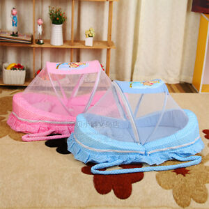 Baby Mosquito Net Bed Net Cotton-padded Mattress Pillow Tent Foldable Portable