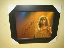 Roger Daltrey {The Who} Excellent Framed Signed Photograph (8x10)