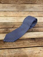 Vineyard Vines Lounge Beach Chair Blue Tie Necktie 100% Silk Made in USA