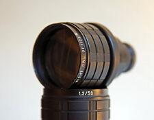"LOW LIGHT DARK  IR SURVEY Super-16 TV 1"" 4/3 2/3 50mm F1.2 FAST MIGHT OWL Lens"